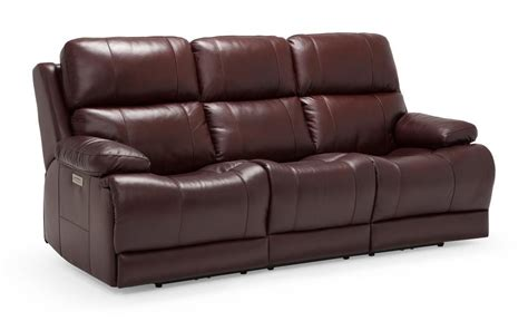 Palliser Leather Sofas by Palliser Kenaston Power Reclining Sofa Reeds Furniture