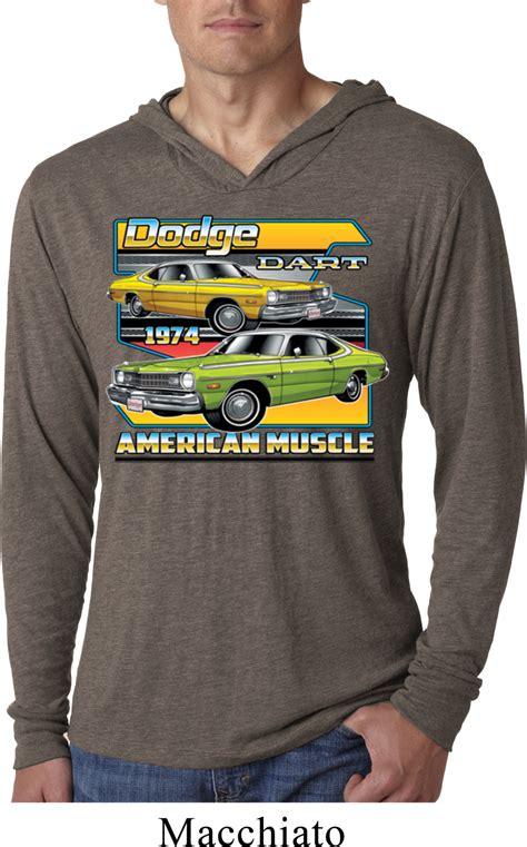 Dodge Shirt by Dodge Shirt Dodge Dart Lightweight Hoodie T Shirt