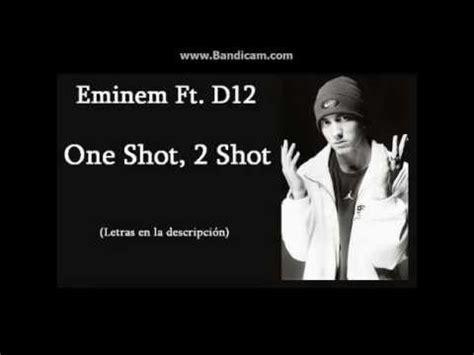 eminem one shot lyrics eminem one shot two shots lyrics in desc youtube