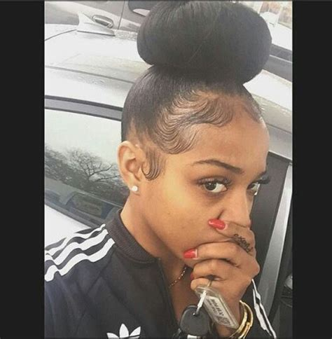safe hair styles for edges 107 best baby hairs laid images on pinterest natural