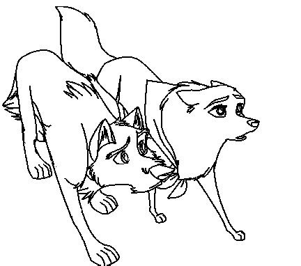 Balto Jenna Coloring Pages