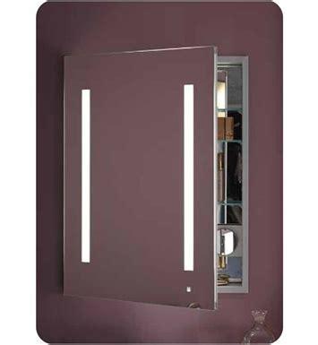 "Robern AC2430D4P1 AiO 24"" Wide Single Door Medicine"