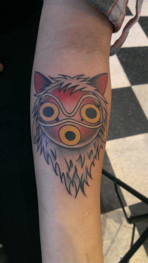 princess mononoke tattoo want tattoos pinterest