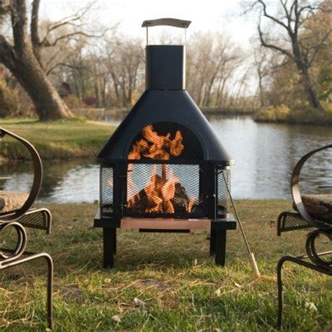 Modern Chiminea With Grill Pin By Home Decorating Ideas On Modern Chiminea For
