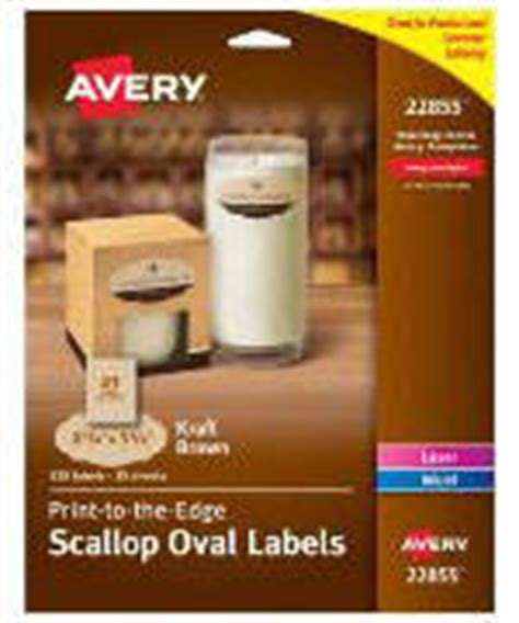 Avery Easy Peel Inkjetlaser White Round Labels 2 Diameter Pack Of 120 By Office Depot Officemax Avery Oval Labels 22829 Template