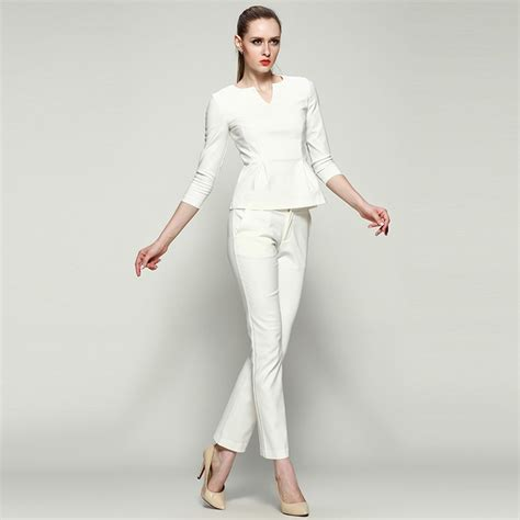 executive suits for working women 2015 aliexpress com buy women business suits formal office