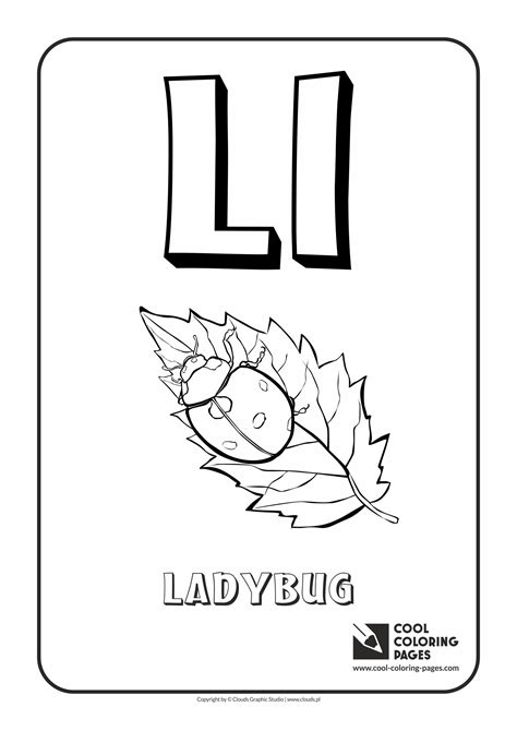 L You Coloring Pages by Letter L Coloring Alphabet Printable Coloring Alphabet