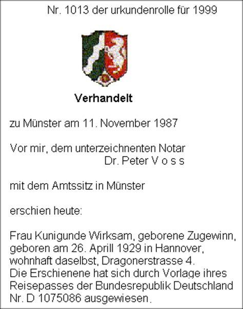 Was Kostet Testament by Bestattungs Institut Holger Reinhold Testament Aber Wie