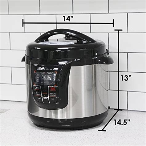 maximatic epc 808 elite platinum 8 quart pressure cooker maximatic epc 808 elite platinum 8 quart pressure cooker