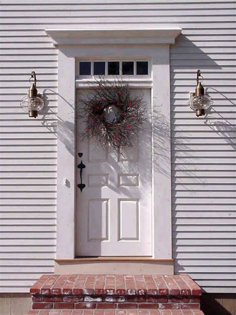 colonial front door surrounds home door ideas 132 best images about front doors n porches on pinterest