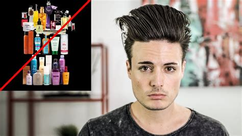 mens hairstyle no product how to have great hair with no hair product mens hair