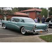Photo 1957 Buick Roadmaster 75  Blue Met Rvl LaVerne Album