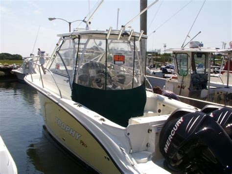 trophy boats pro package 2007 trophy 2502 wa 25 fish and ski used excellent