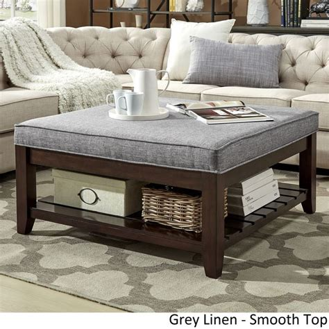 large padded coffee table best 25 storage ottoman coffee table ideas on