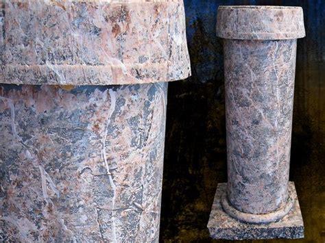 how to paint faux marble columns deck the s diy faux columns
