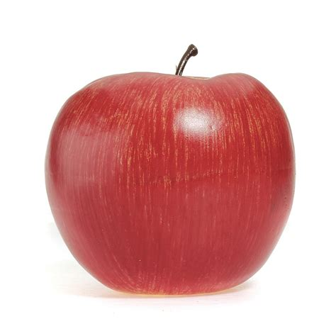 decorative fake apples t3y6 5x 4 large artificial red apples decorative fruit