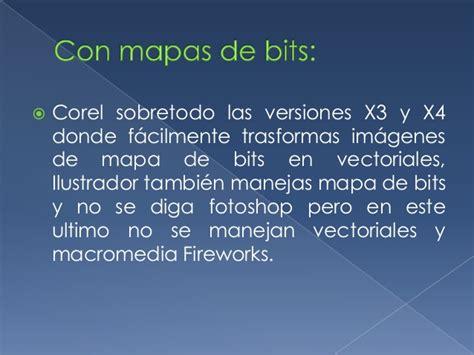tipos de imagenes vectoriales y mapas de bits diferencias entre vectores y mapa de bits