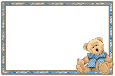 Frame Foto Teddy free baby borders clip frames and borders for babies frame frame foto lucu