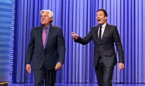 Nbc To Lay Leno Staff Next Week Guest Hosts Could Save by Leno Takes Jimmy Fallon S Tonight Show