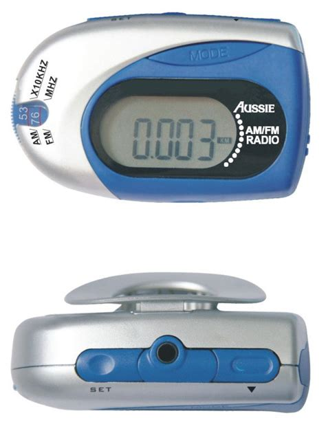 Pedometer With Fm Radio Walking Steps Counting Calories Distance china pedometer with am fm radio m7078 china pedometer with am fm radio calorie pedometer