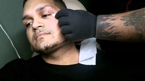 microdermal piercing tear drop youtube