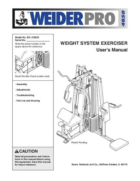 9 appealing weider pro 4850 home ideas image home