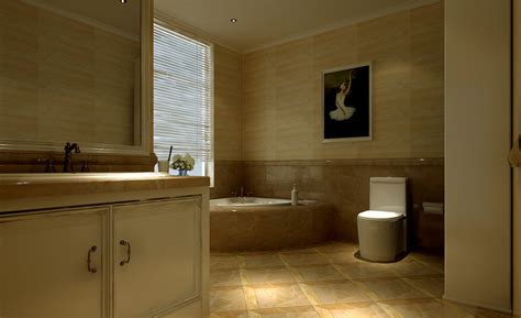 European Bathroom Design Luxury Bathroom Interior Design European Style 3d House