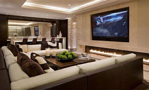 bid up tv schicke wohnzimmer einrichten 15 moderne wohnideen