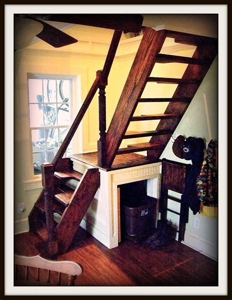 how to build stairs in a small space custom stairs for small spaces by smithworksdesign on etsy