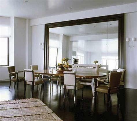 stylish large decorative mirrors  dining room