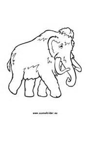 ausmalbilder mammut mammut malvorlagen