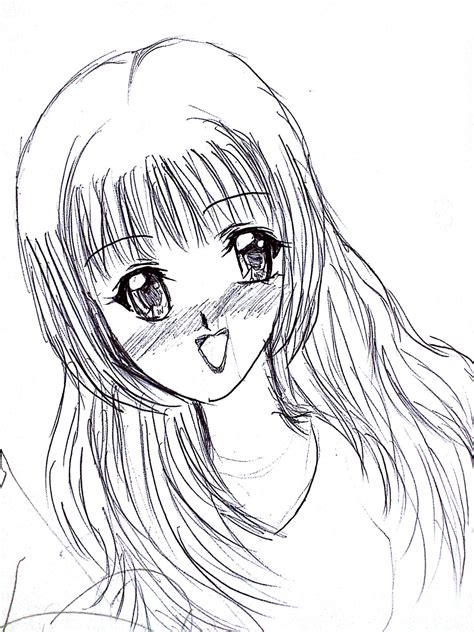 Anime Drawing by Anime Drawings Related Keywords Anime Drawings