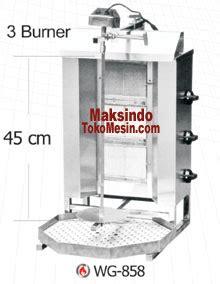 Mesin Kebab Burner Kebab Pemanggang Kebab Daging 4kg jual mesin kebab untuk membuat kebab di surabaya toko mesin maksindo surabaya toko mesin