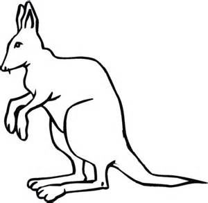 kangaroo face coloring page 301 moved permanently