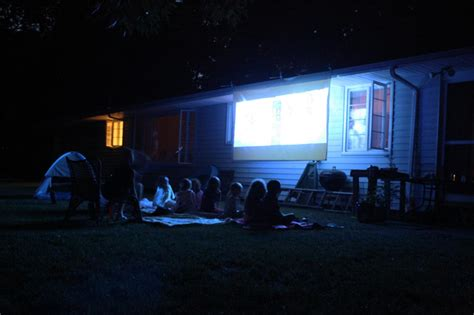 backyard movie night projector tips for designing the ultimate media room diy network