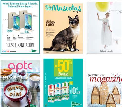 folleto corte ingles donde ver los cat 225 logos virtuales de el corte ingl 233 s