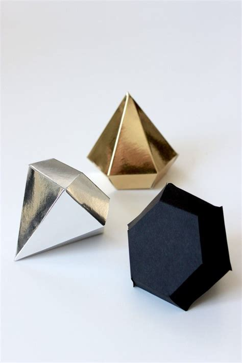 Origami Diamonds - 25 best ideas about paper on diy