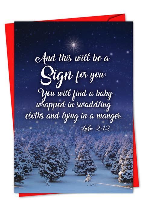 christmas quotes luke  creative christmas paper card