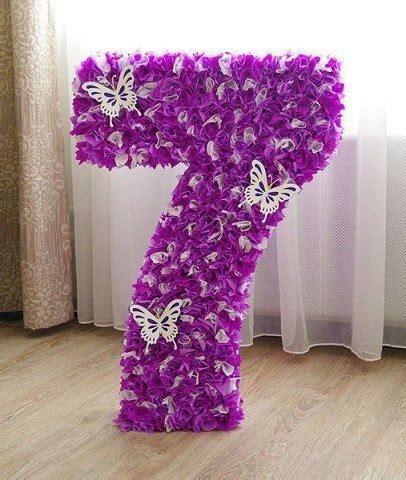 numeros para decorar aprende c 243 mo decorar n 250 meros gigantes con papel crepe