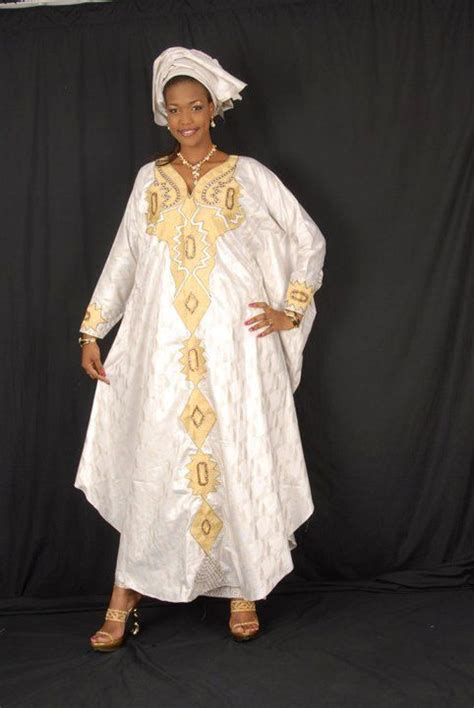 latest african designs for senegales brocade for women white african brocade grand boubou with gold embroidery