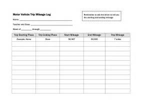 truck drivers trip sheet template best photos of driver trip log sheet template driver