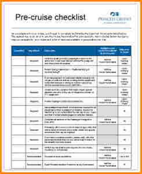 5 cruise packing list pdf wedding spreadsheet