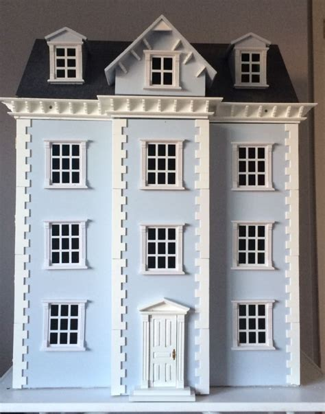 georgian dolls house for sale dolls house with georgian exterior and modern interior the dolls house exchange