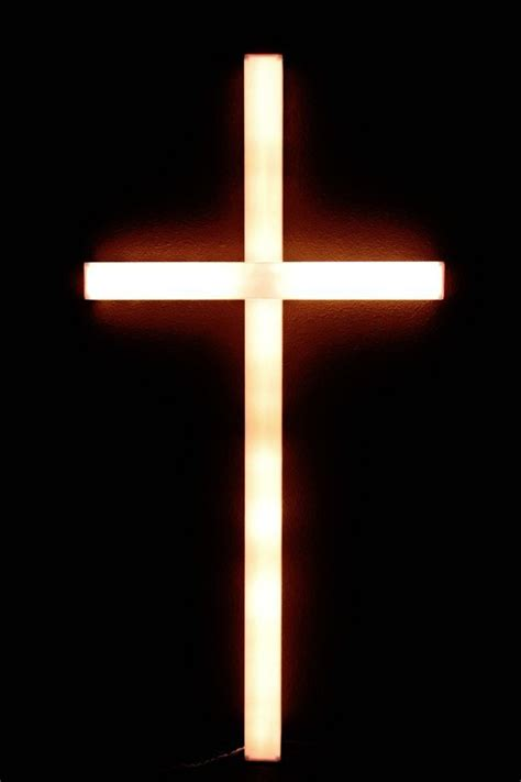 easter lighted cross decor large 4 x2 outdoor lights