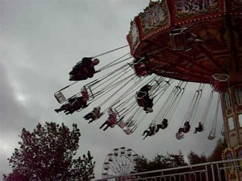 woman falls off swing ride spinning swing ride at lightwater valley theme park youtube