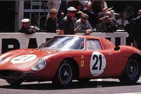 AT 1965 Ferrari Decal 250 LM Winner Le Mans #21 Red