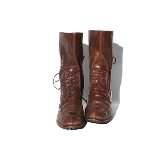 size 7 joan and david italian leather boots by tanakavintage