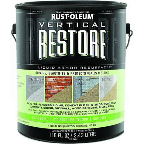Restore Deck Liquid Armor Resurfacer by Buy The Rust Oleum 43100 Vertical Restore Resurfacer 3