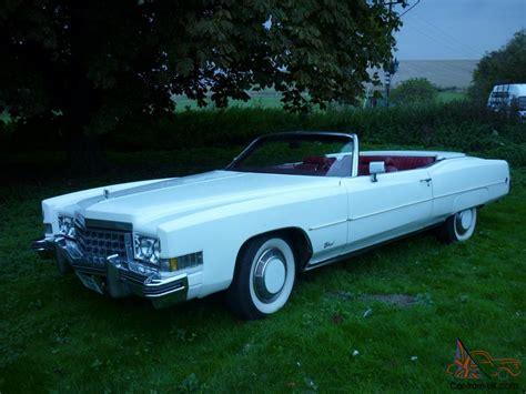 cadillac eldorado 1973 convertible cadillac eldorado 1973 white convertible