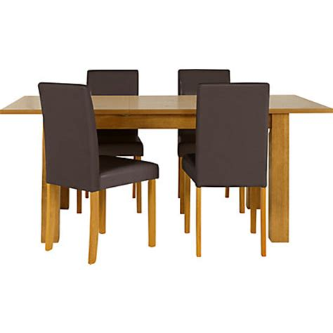Cucina Extending Dining Table And 6 Chairs Light Oak Homebase Dining Table And Chairs
